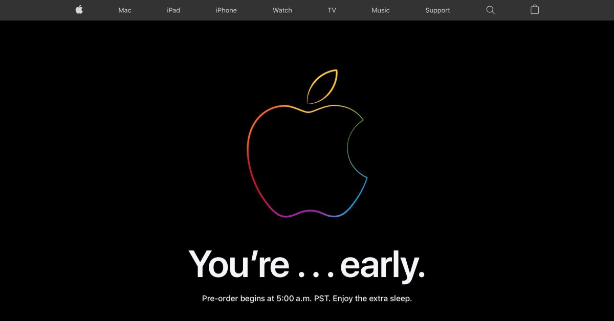 Apple Store is down ahead of iPhone 12 mini, iPhone 12 Pro Max and HomePod mini preorders - 9to5Mac