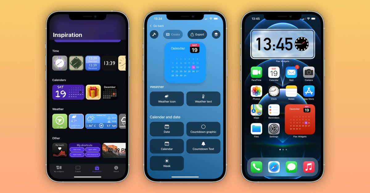 'Flex Widgets' lets you create and customize your own widgets for the iOS home screen - 9to5Mac