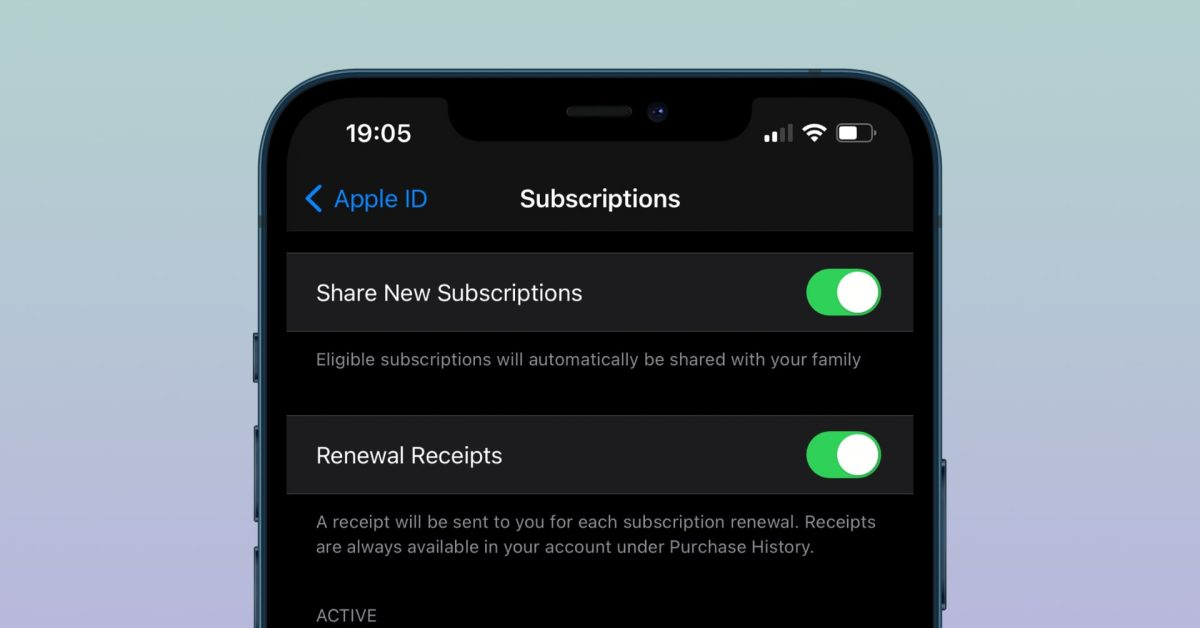 Users can now share in-app purchases and subscriptions via iCloud Family Sharing - 9to5Mac
