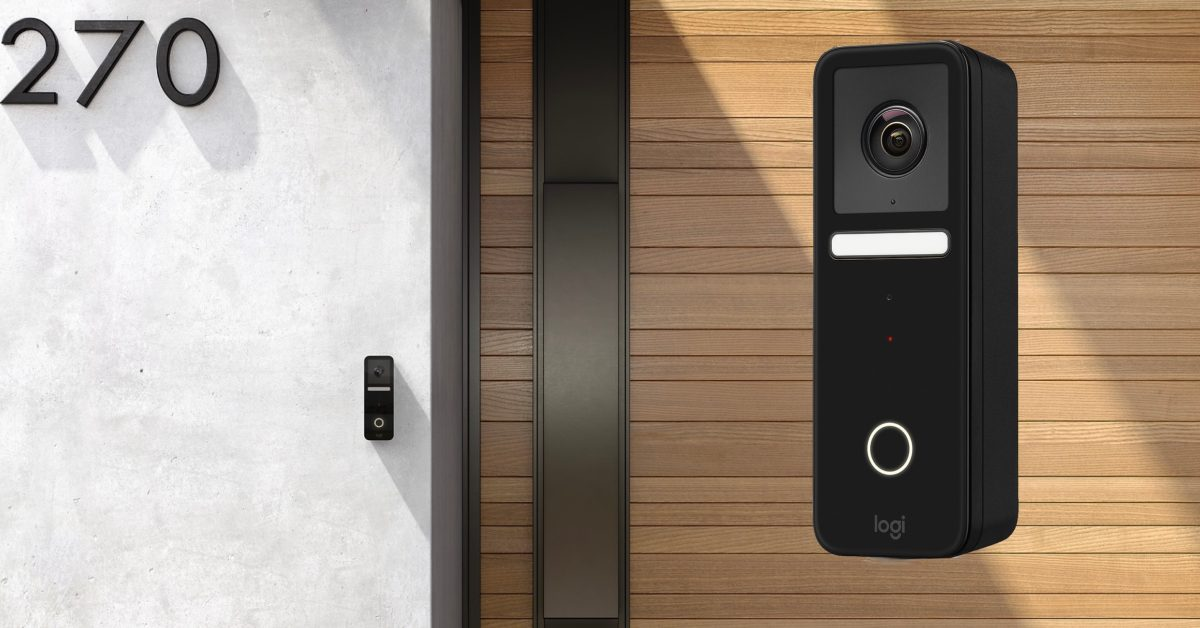 Logitech unveils first consumer smart doorbell w/ HomeKit Secure Video, available now for $200 - 9to5Mac