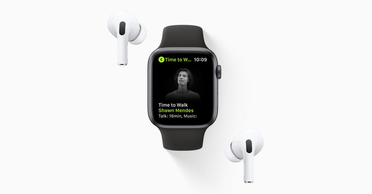 Apple officially launches new 'Time to Walk' feature for Apple Watch and Fitness+ - 9to5Mac