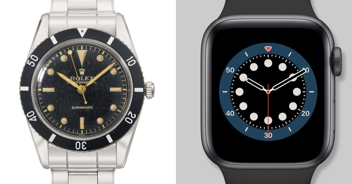 photo of A look at the iconic watches which inspired five Apple Watch faces image