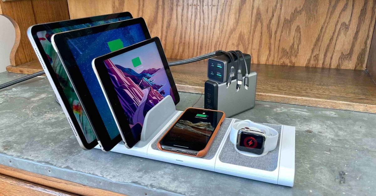 photo of Best iPhone and iPad multi-device chargers for families image