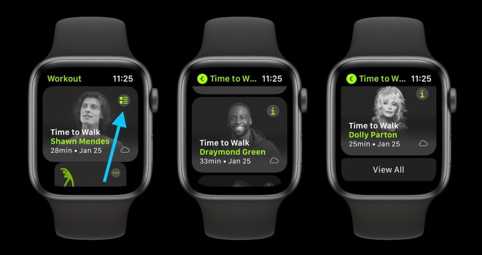 How to use Apple Watch Time to Walk feature
