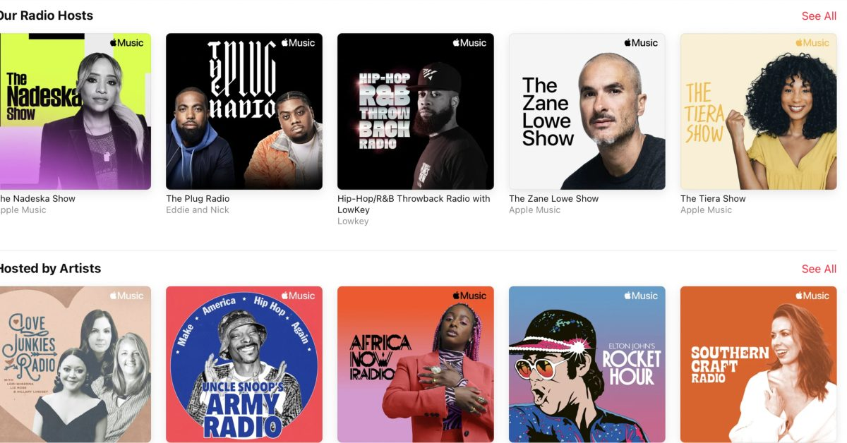 Comment: Apple Music Radio shows are Apple's secret weapon against Spotify - 9to5Mac