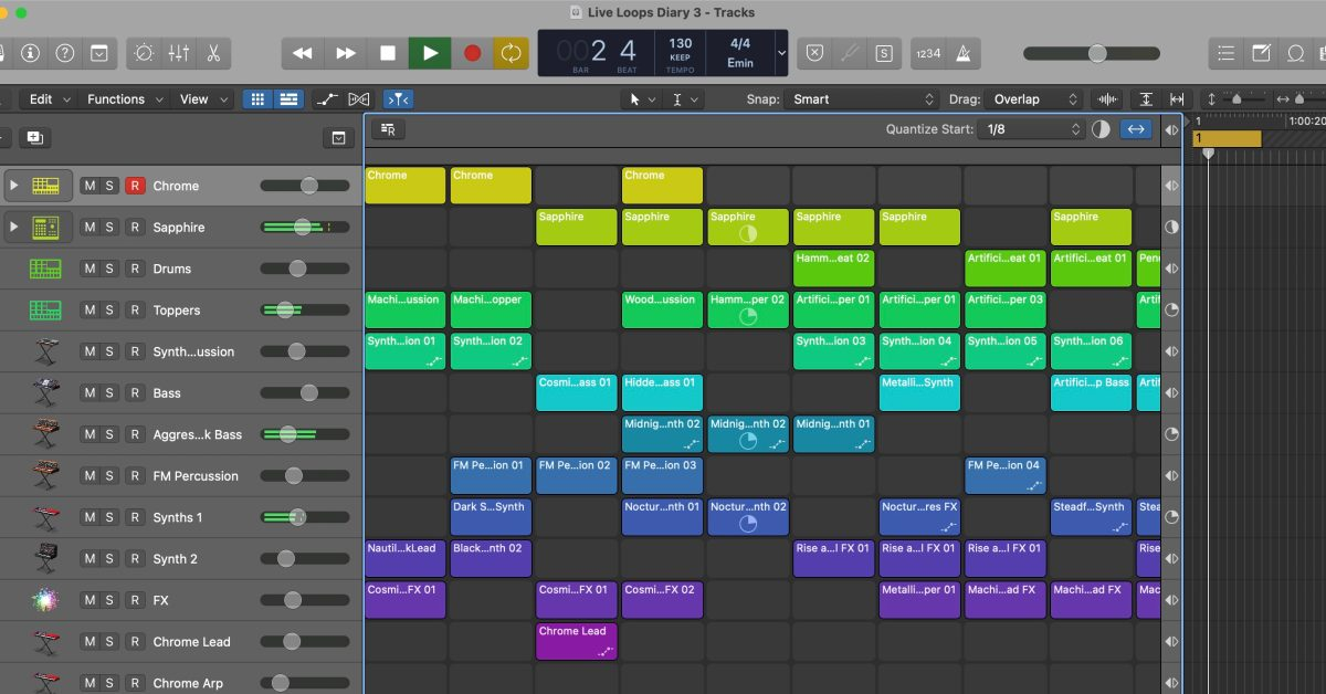 photo of Logic Pros Live Loops Launchpad Diary: Introducing yourself to a new workflow + more image