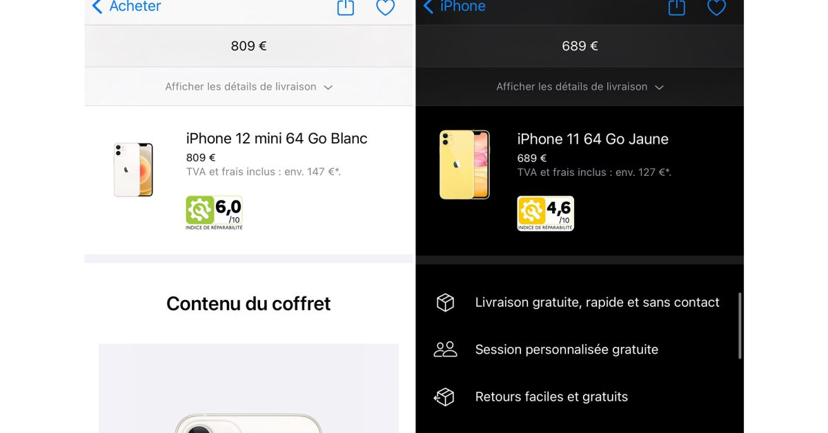 photo of Apple begins showing repairability index for iPhones and Macs in France image