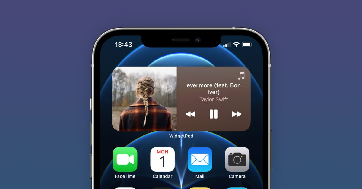 photo of 'WidgetPod' is a new iOS app that brings Now Playing widgets for Apple Music and Spotify image