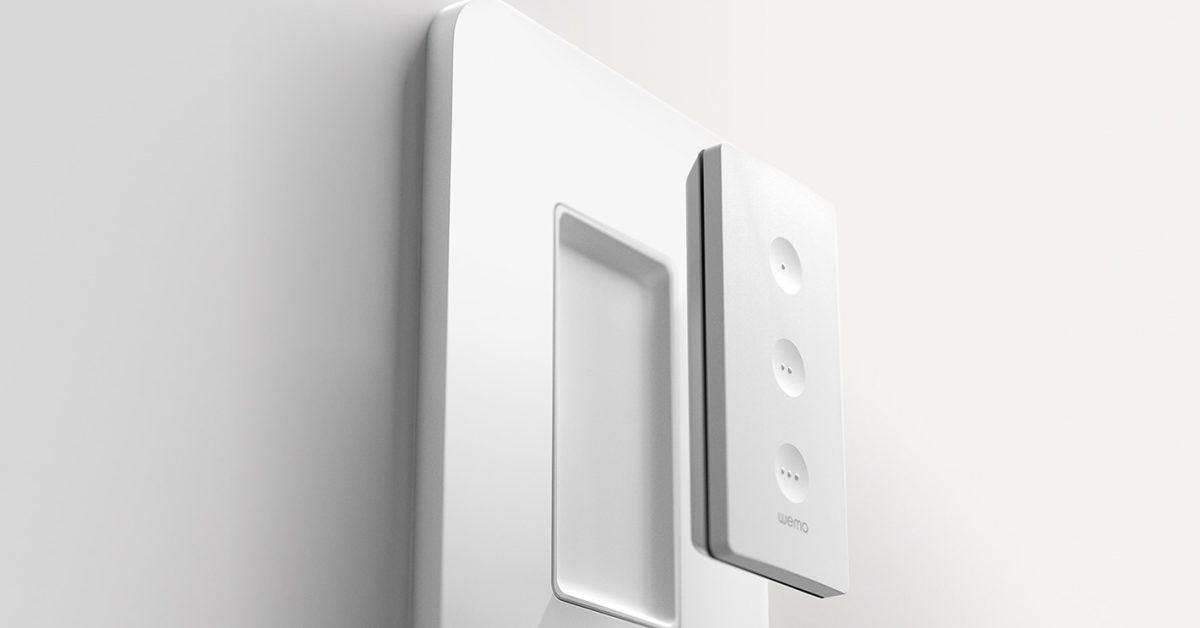 photo of Wemo unveils new Stage Scene Controller for managing up to six HomeKit scenes image