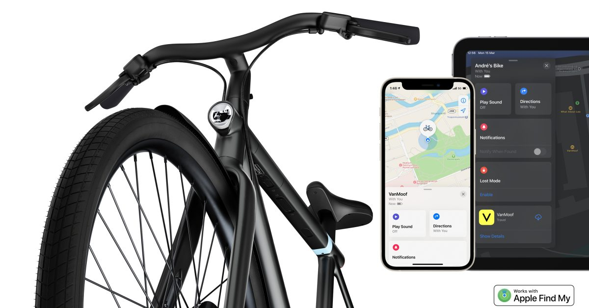 photo of VanMoof S3 and X3 e-bikes now support Find My integration, here's how it works image