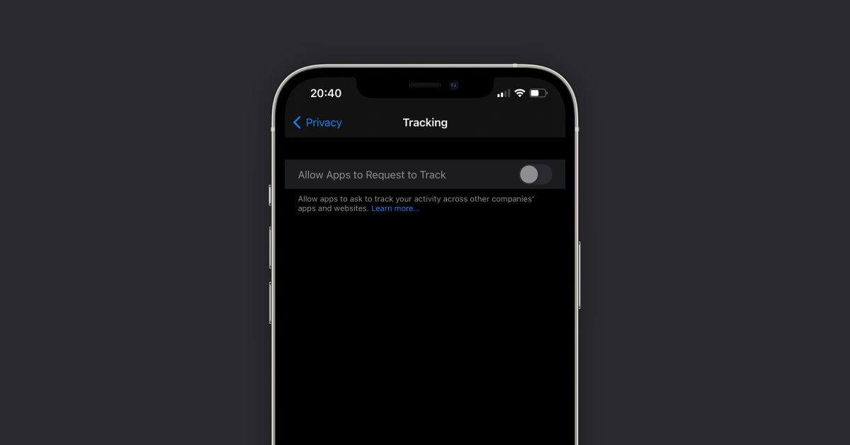 photo of Apple seems to be finally fixing grayed out App Tracking Transparency toggle in iOS 14 image