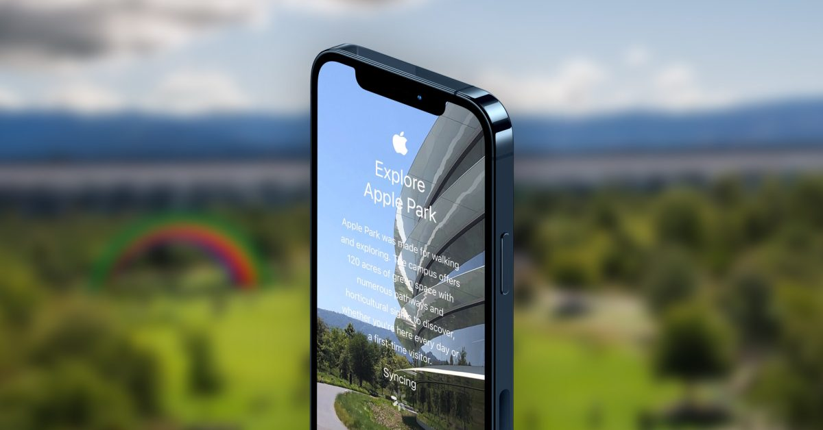 Gallery: This is Apple's internal 'Tour Apple Park' app for welcoming new employees - 9to5Mac