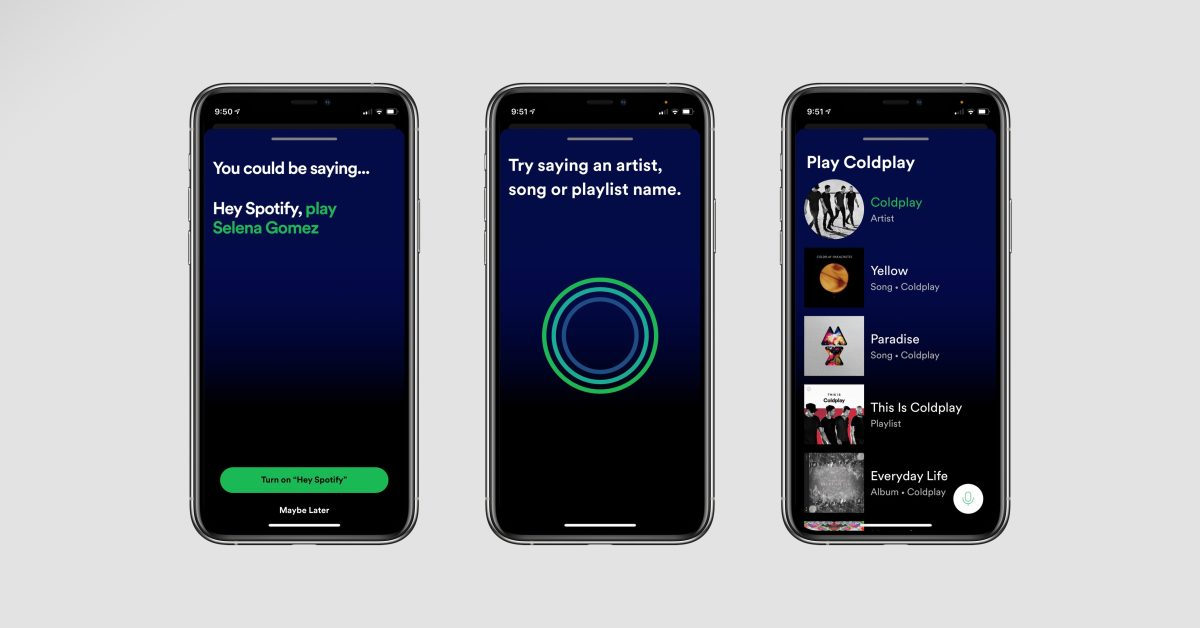 photo of 'Hey Spotify' in-app virtual assistant now rolling out on iPhone image