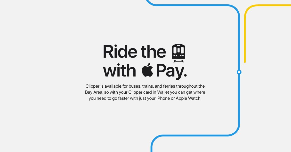 photo of Apple Pay with Express Transit support comes to San Francisco's Clipper card image