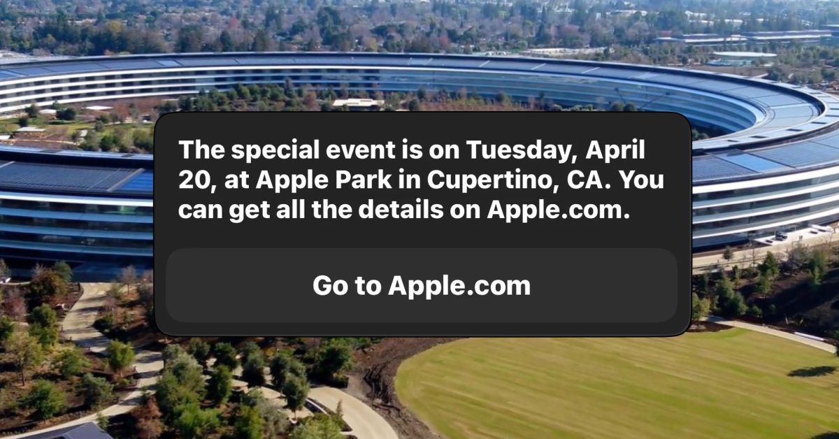 photo of Siri says the next Apple event is on April 20: new iPad Pro expected image