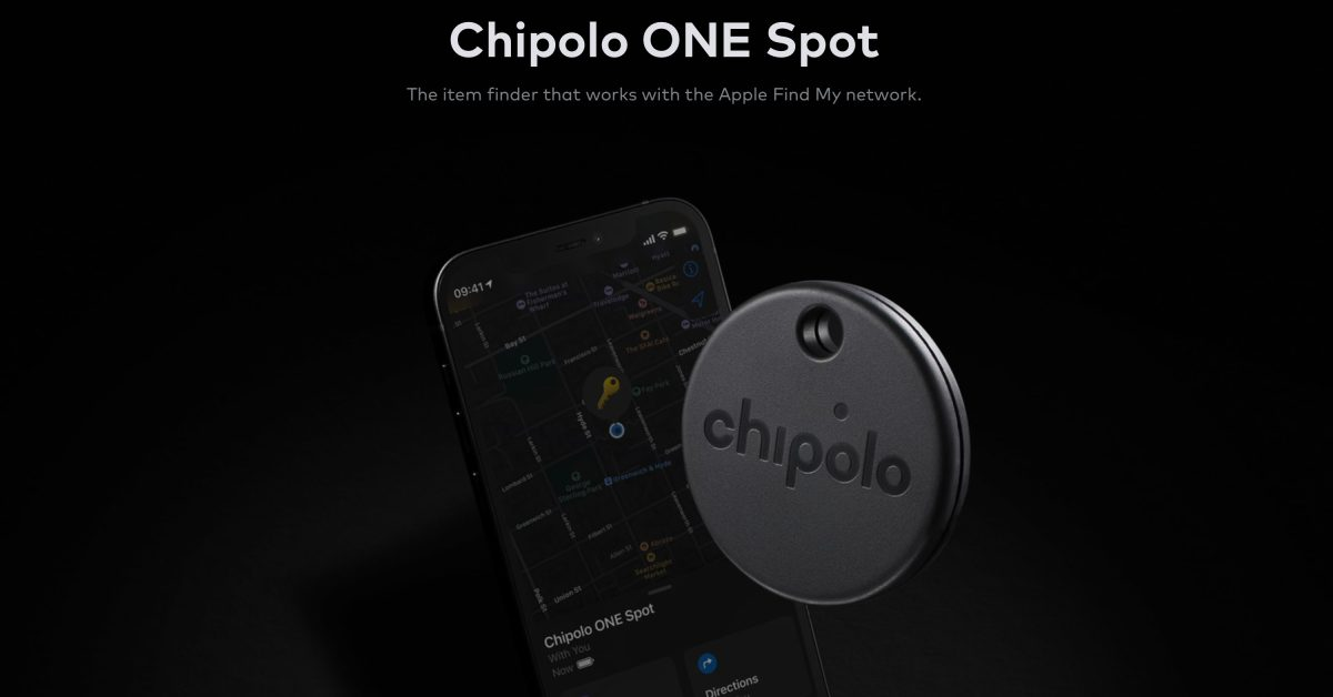 photo of Chipolo ONE launching in June as the first third-party item tracker with Find My integration image