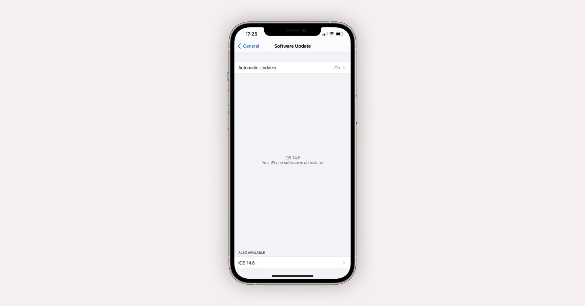 photo of iOS 14.6 makes it easier for beta users to install RC build and skip other available beta updates image