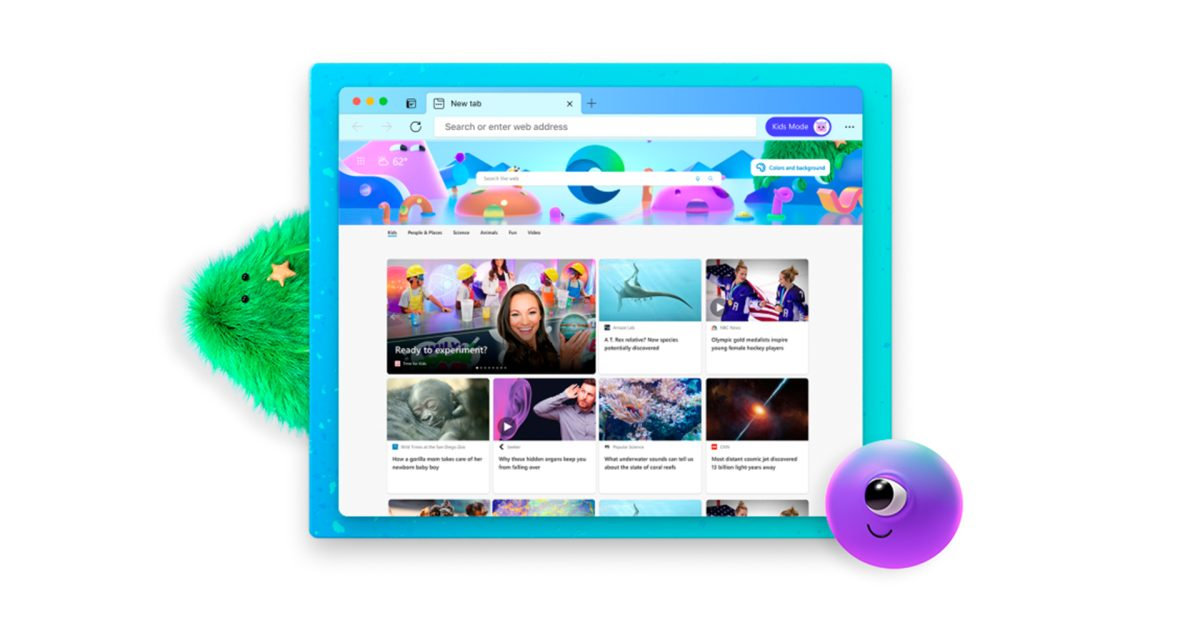 photo of Microsoft Edge for macOS updated with new Kids Mode image