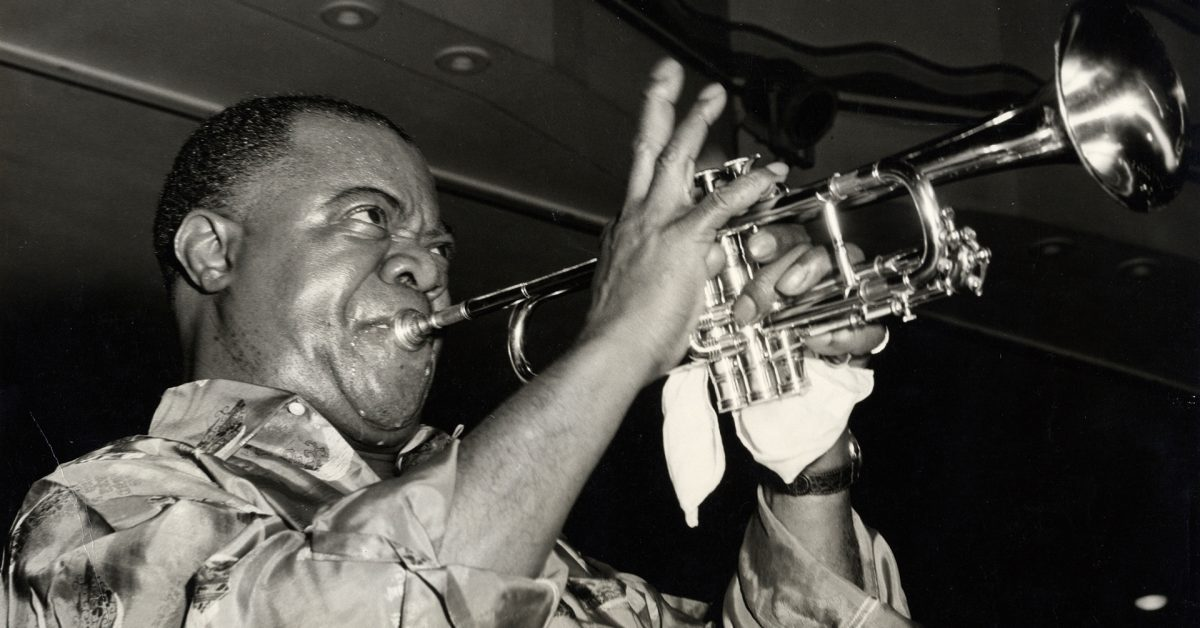 photo of Apple TV+ announces 'Black & blues: The Colorful Ballad of Louis Armstrong' documentary image