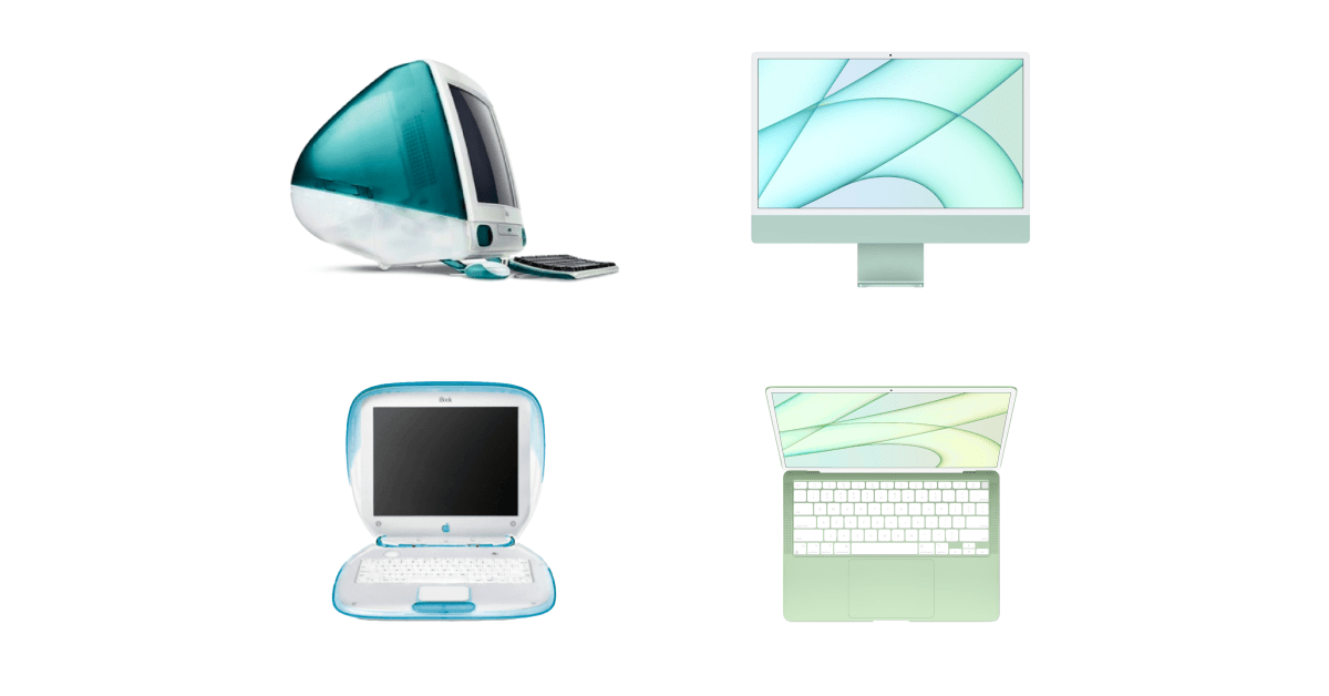 Concept: It's time for the MacBook Air to get its iBook moment following the reinvention of the iMac - 9to5Mac