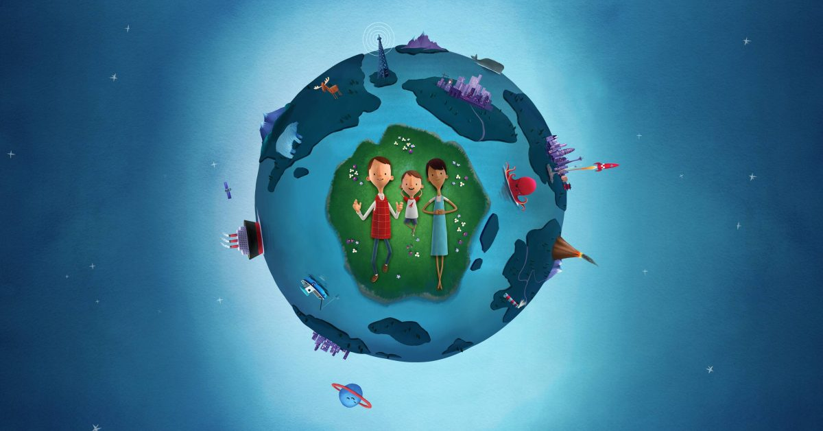 photo of Today at Apple and Oliver Jeffers celebrate Earth Day with virtual sessions image