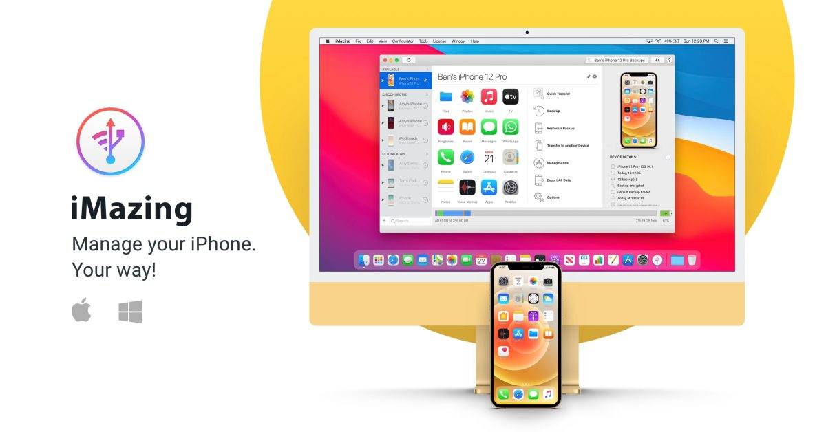 iMazing, the best backup and data transfer tool for iPhone- 9to5Mac