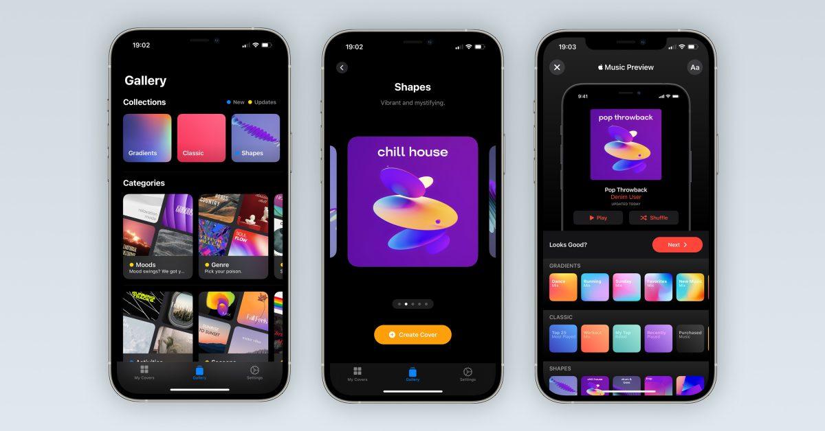 photo of 'Denim' playlist artwork creator gets major update with Music app integration, more image