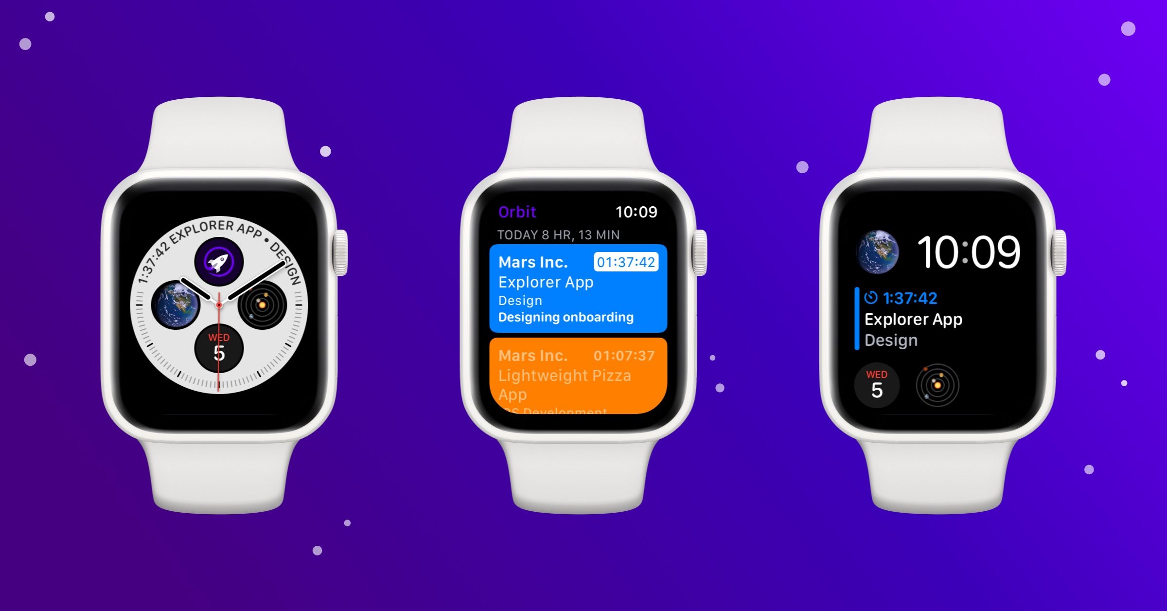 Smart invoices 'Orbit' app updated with Apple Watch version for the first time