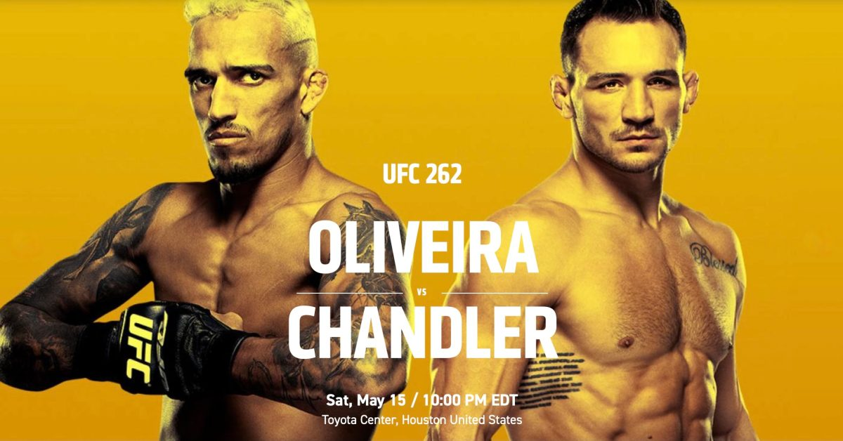 photo of How to watch UFC 262 Oliveira vs Chandler on iPhone, Apple TV, web, more image