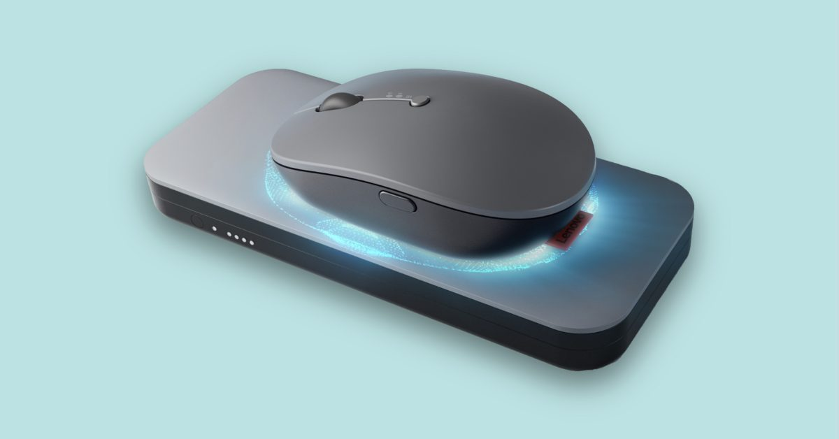 Lenovo's wireless charging mouse is what Apple should copy for the Magic Mouse
