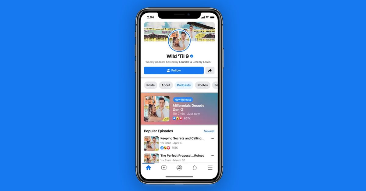 Facebook to launch its own podcast platform next week - 9to5Mac