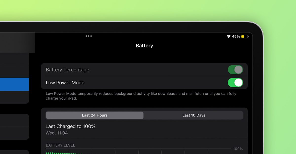 photo of iPadOS 15 and macOS Monterey bring Low Power Mode to iPad and Mac, here's how to enable it image