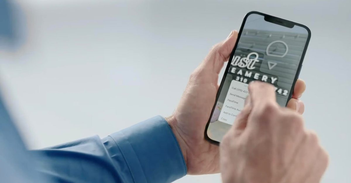 photo of Hands-on: Here's how iPhone's Live Text OCR works in iOS 15 image