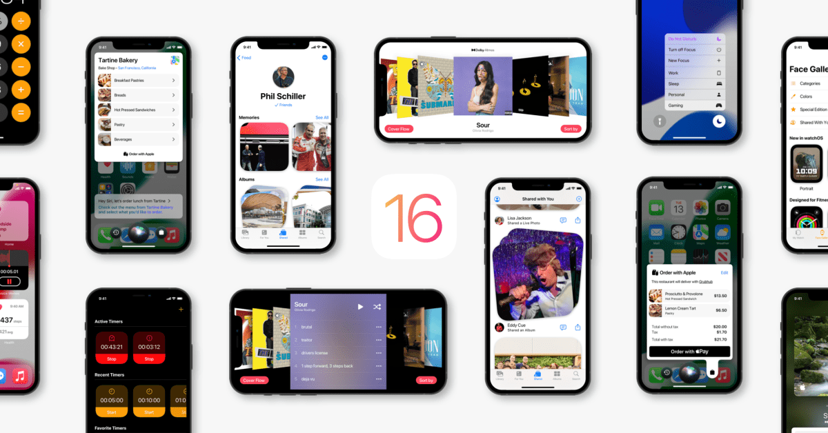 Concept Part 2: How iOS 16 should improve apps like Photos, Music, Watch, Clock, Calculator, and more - 9to5Mac