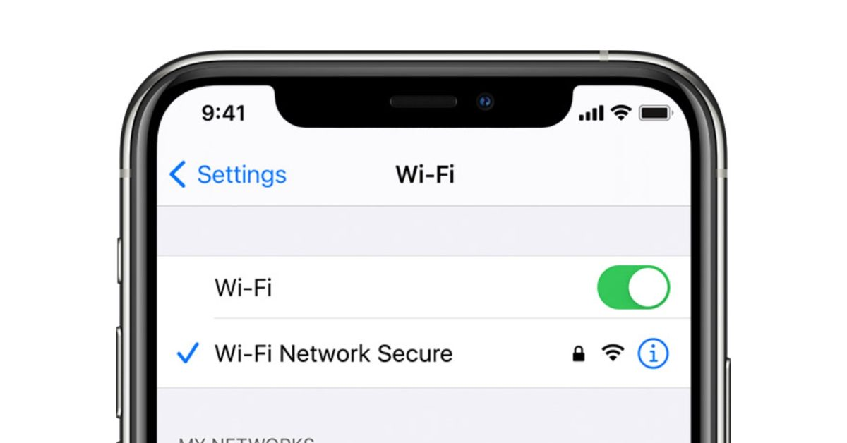 A specific network name can completely disable Wi-Fi on your iPhone