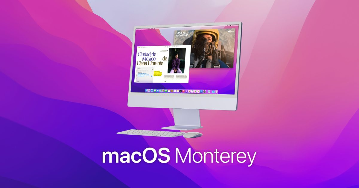Apple releases macOS Monterey beta 4 to developers
