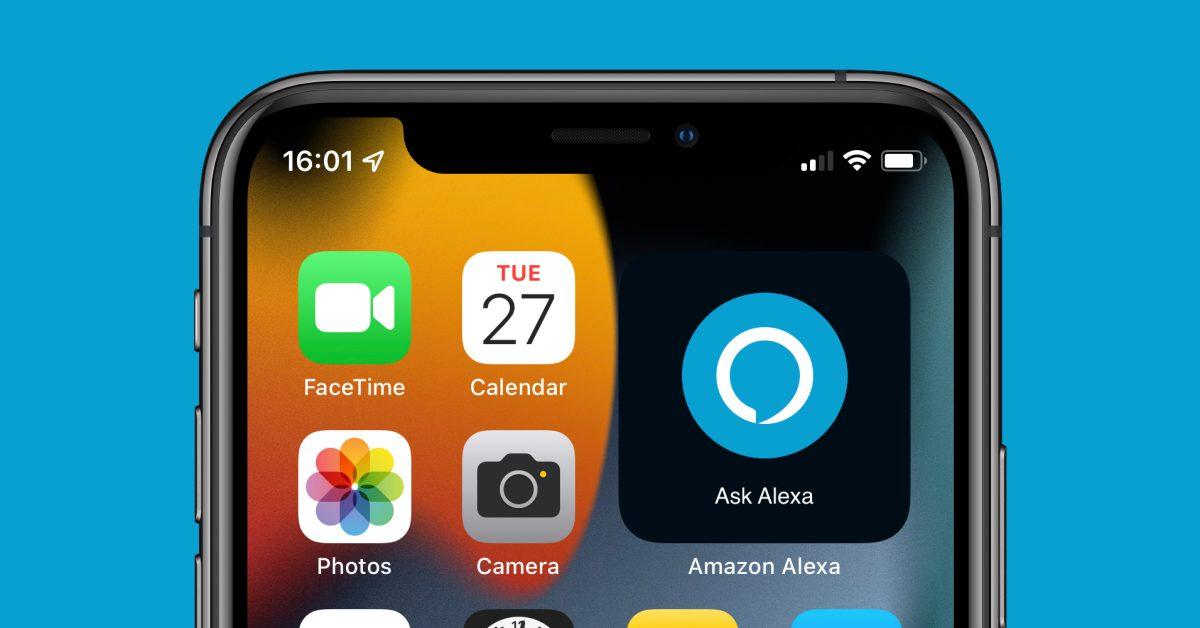 Amazon Alexa app adds 'Ask Alexa' widget for your iPhone home screen