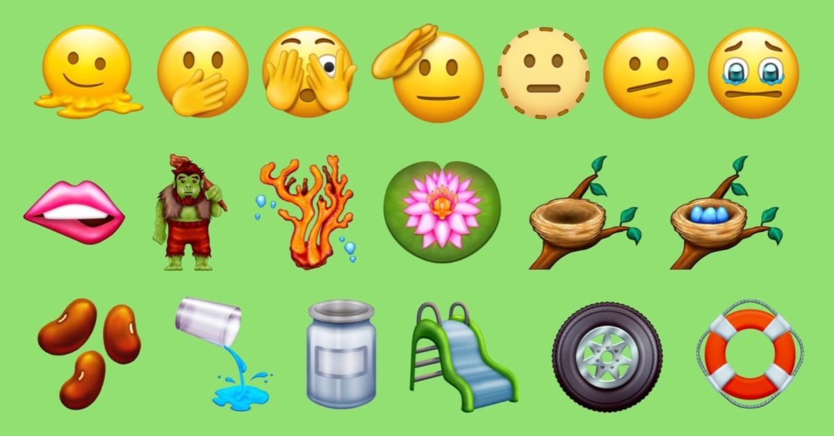 photo of Here's a look at the new emoji that could come to iPhone this year [Update: Emoji 14.0 finalized] image