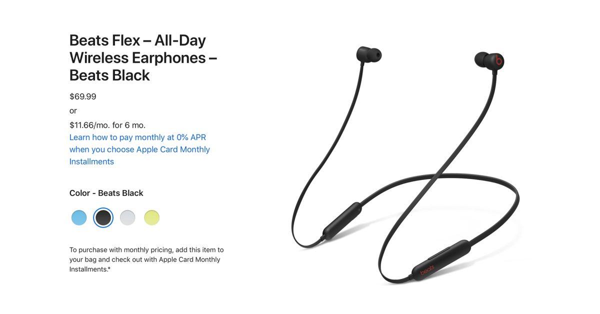 photo of Apple mysteriously raises Beats Flex earphones price to $69 image