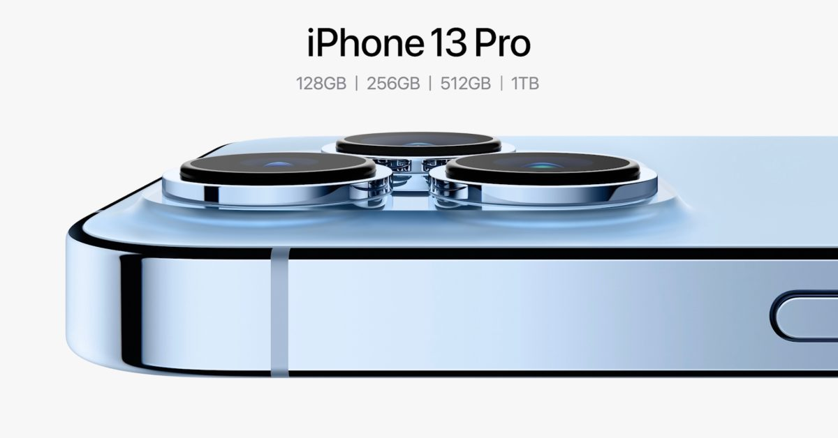 iPhone 13 Pro Max with 1TB costs $1,599, iPhone XR and iPhone 12 Pro discontinued
