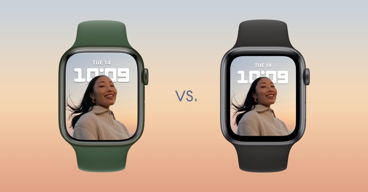 Here's how Apple Watch Series 7 compares to the Series 6 and earlier