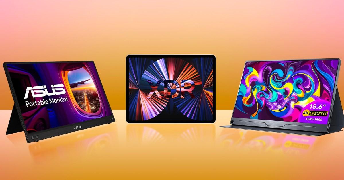 Best portable USB-C displays for MacBooks: iPad, ASUS, AOC, more