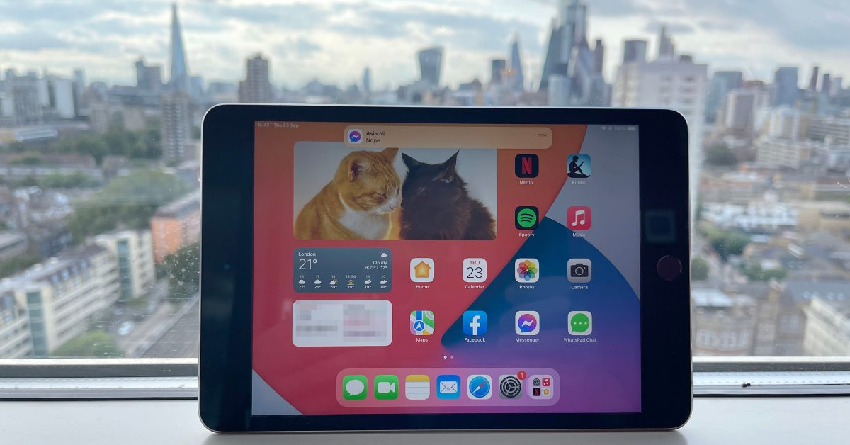 My brief experiment to find an excuse for an iPad mini 6 failed - 9to5Mac