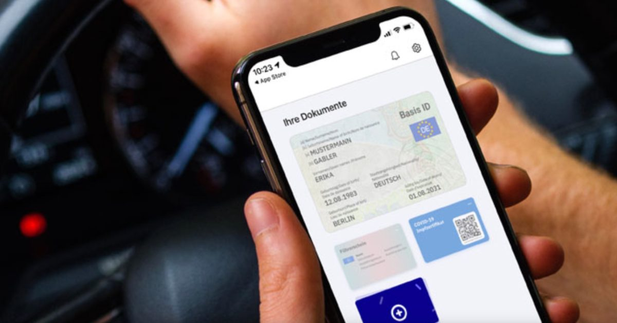 Germany now lets people save their driver's license on the iPhone