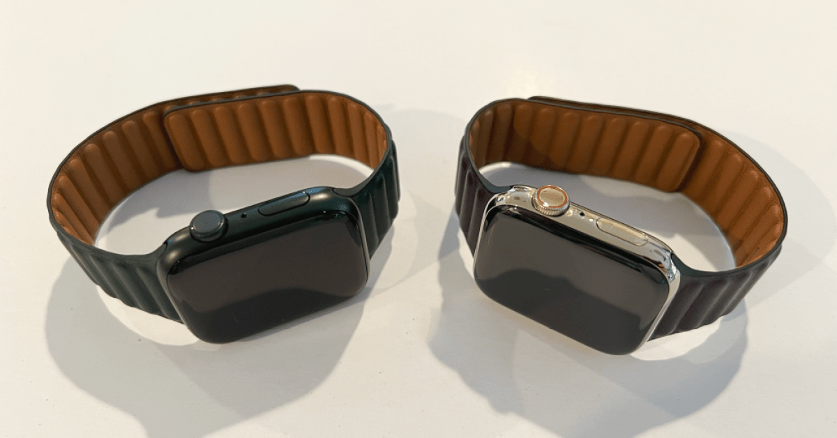 Here's how the new green Apple Watch Series 7 color looks in the real world