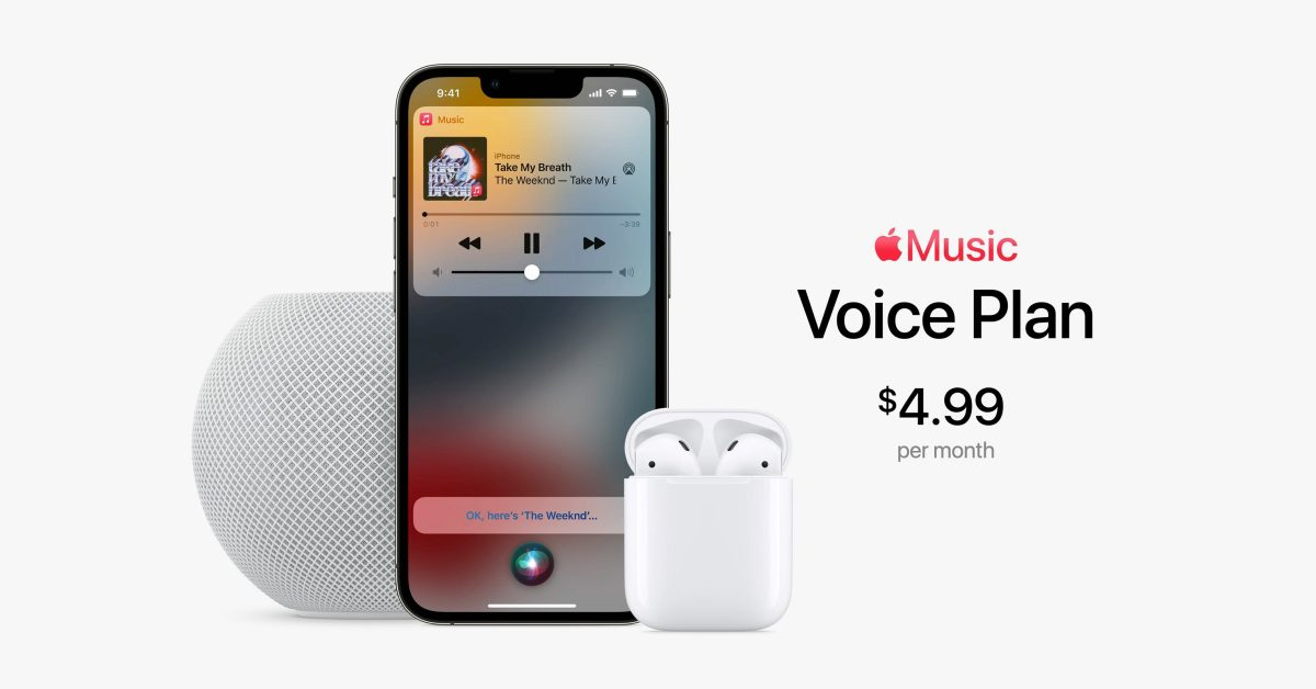Cheaper Apple Music: What is the Apple Music Voice Plan?