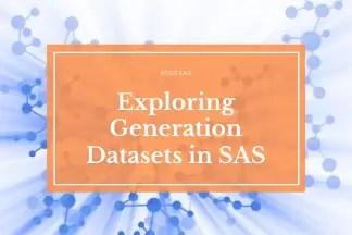 sas generation datasets