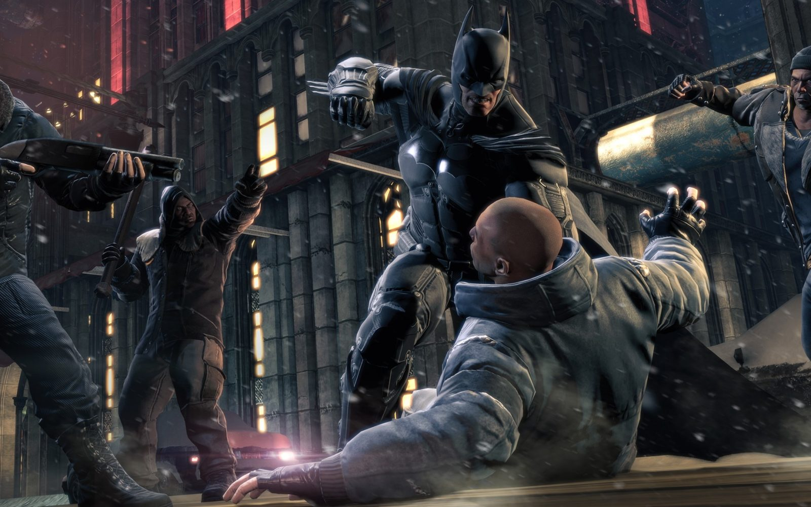 Batman Arkham Origins 9to5toys Return To Asylum Reg 3 Ps4
