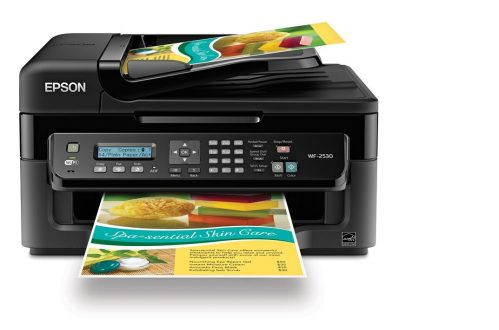 Epson WorkForce WF-2530 Wireless All-in-One Color Inkjet Printer-sale-01