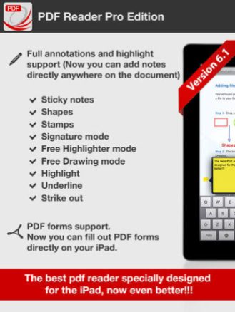 PDF Reader Pro Edition for iPad-01